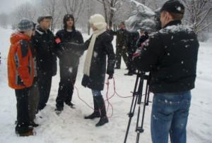 Видео репортаж синхрон
