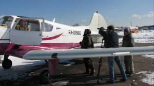 Репортаж самолёт