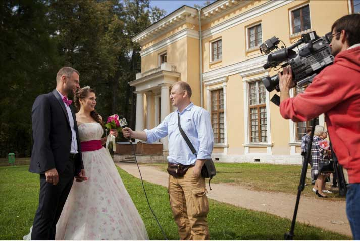 обучаю свадебному репортажу