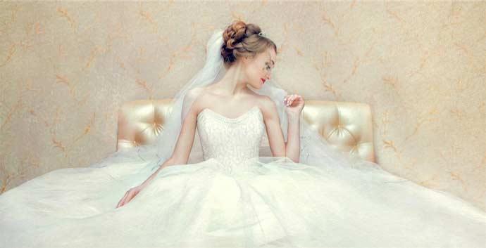 Свадебное платье на видеосъёмке, как правильно выбрать длинну платья для видео на свадьбу
