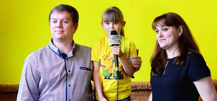 Видео фото съёмка и интервью на день рождения