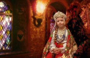 школьный фотопроект с древнерусскими костюмами
