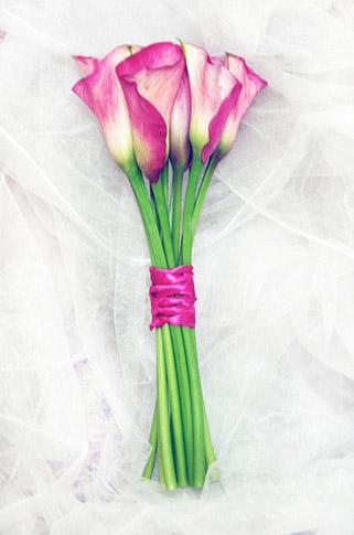 букет невесты на своих стеблях