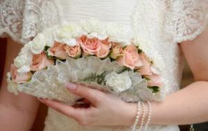 веер-букет невесты