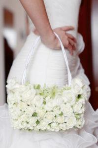 цветочная сумочка - букет невесты