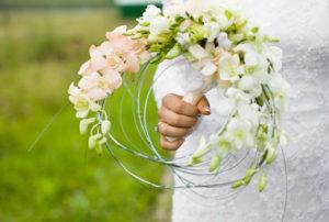 самый лучший свадебный букет невесты