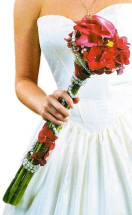 скипетр - букет невесты
