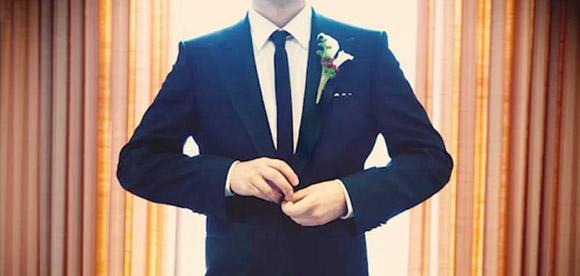 галстук жениха на свадьбу