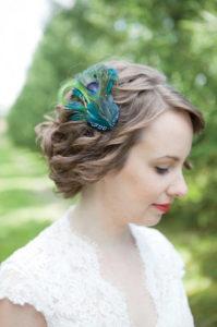 цветы в свадебных прчёсках
