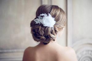 свадебная причёска невесты