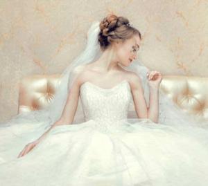 свадебное платье на фото и видео съёмке