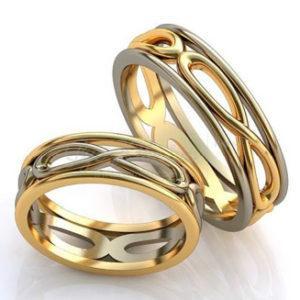 свадебные колечки для молодожёнов
