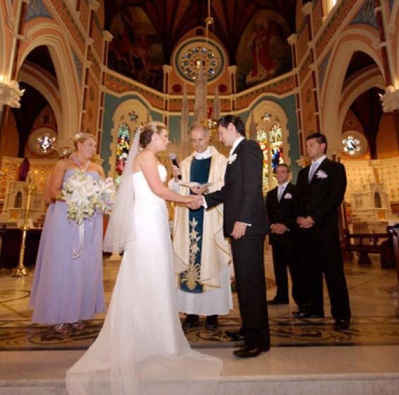 русская и американская свадьба
