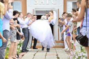 загс и свадьба по русски
