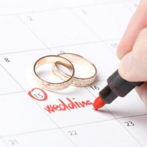 Выбираем сезон для свадьбы