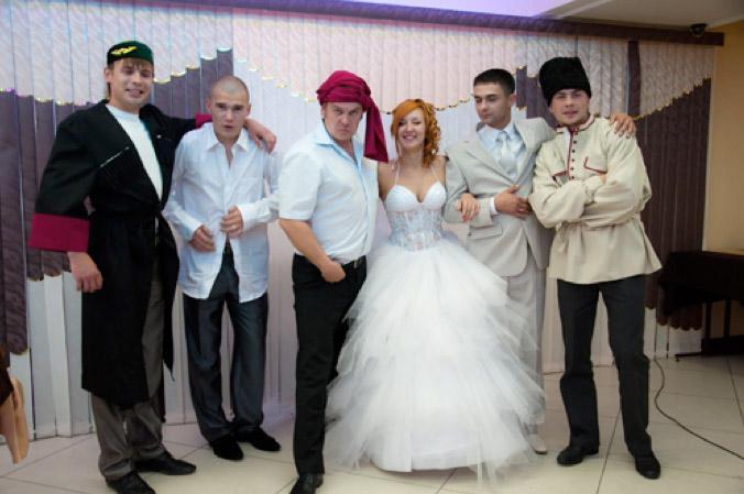 пихищение невесты на свадьбе