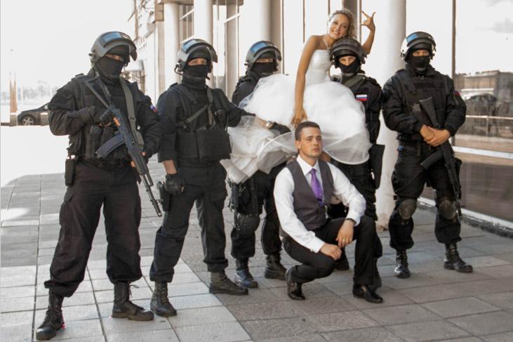 делаем похищение невесты